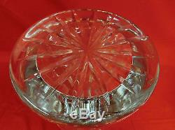16 Flared WATERFORD Crystal Cut Glass Vase IRELAND BEAUTIFUL Large