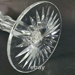 Antique Crystal American Brilliant Cut Glass Trumpet Vase 14