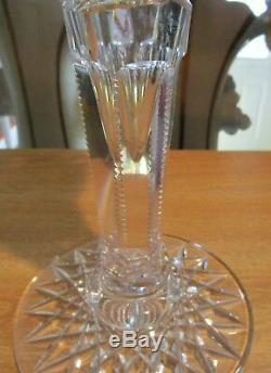 Exquisite American Brilliant Period ABP 15 Trumpet Vase