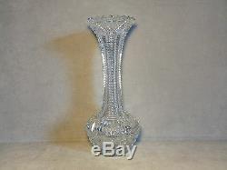 Gorgeous Rare Antique ABP Brilliant Period Master Cut Hawkes Vase