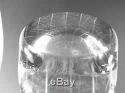 IITTALA Glass Tapio Wirkkala Rare 3283 Cut Vase 1955 10 / 25 cm Tall