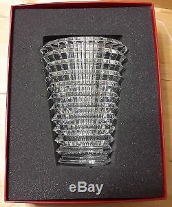 Stunning Large Baccarat Eye Vase. Includes gift box