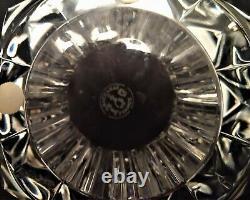 Vintage Baccarat Heavy Cut Crystal Vase Brigitte Pattern 10 France