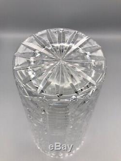 Vintage Waterford Cut Crystal 12 Flower Vase