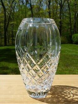 Vintage Waterford Cut Crystal Araglin Flower Vase 9