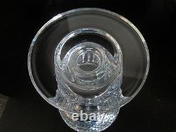 Vintage Waterford Irish Cut Crystal Master Cutter Hibernia Vase Signed