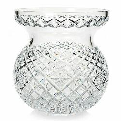 Waterford Crystal Heritage 9 Diamond & Wedge Cut Bouquet Vase