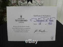 Waterford Crystal Wexford Vase Limited Edition Made In Ireland