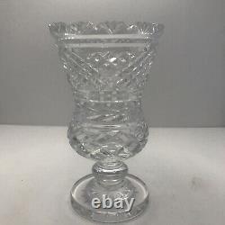 Waterford Vintage Master Cut Pedestal Vase Old Mark 7